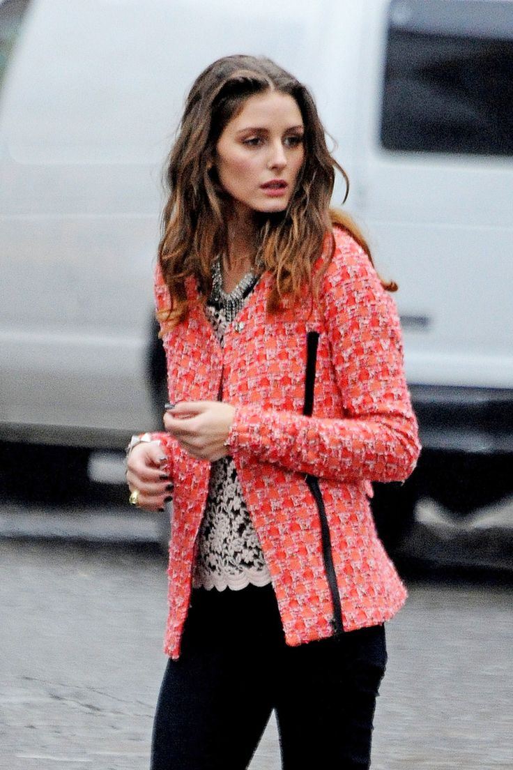 The Jacket Olivia Palermo Style Inspiration To Have And To Hold Pinterest