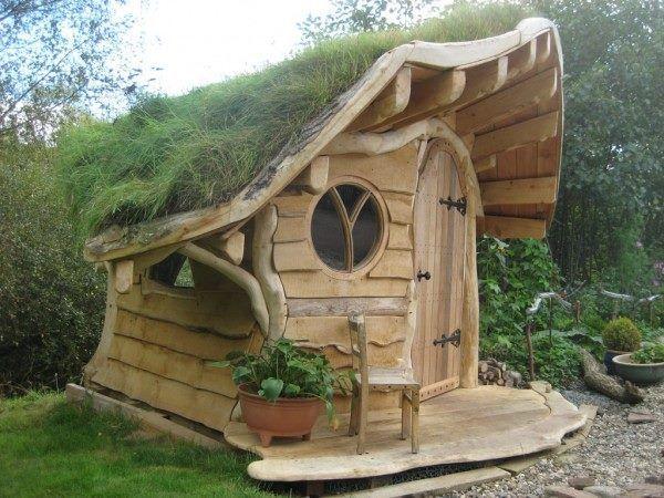 Cabane Hobbit cabane de jardin hobbit - seaandsea
