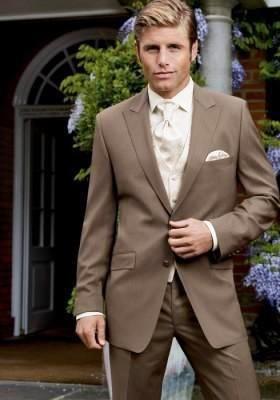 Свадебные костюмы коричневые