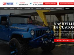 New listing in Automobile Electrical Systems Service and Repair added to CMac.ws. Cartronics in Antioch, TN - http://auto-electrical-repair-services.cmac.ws/cartronics/6053/