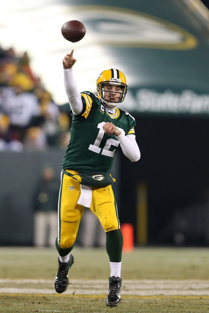 Aaron Rodgers Photos: Wild Card Playoffs - Minnesota Vikings v Green Bay Packers   1/5/13