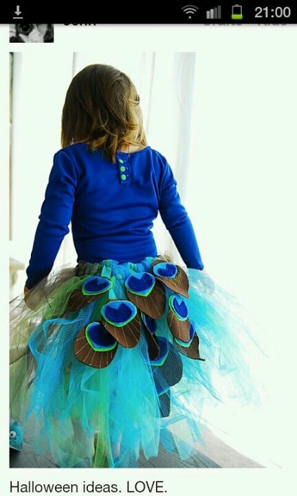 Pauw jurk