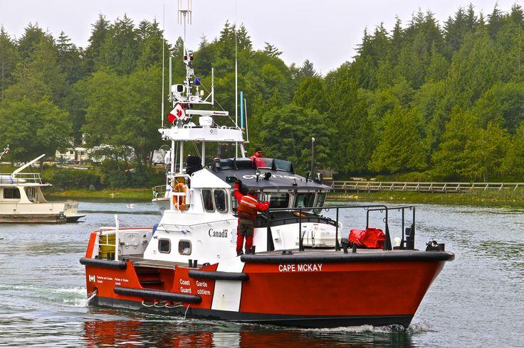 https://flic.kr/p/fHFCgW | Canadian Coast Guard Cutter Cape McKay from Bamfield…