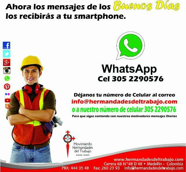 Buenos dias por whatsApp