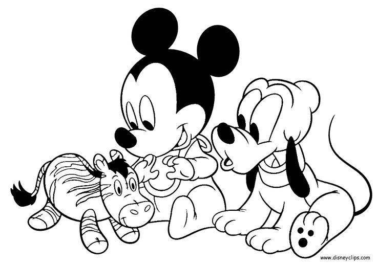 mouse people coloring pages - photo#16