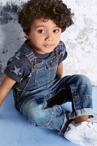Buy Denim Authentic Dungarees (3mths-6yrs) online today at Next: Hungary