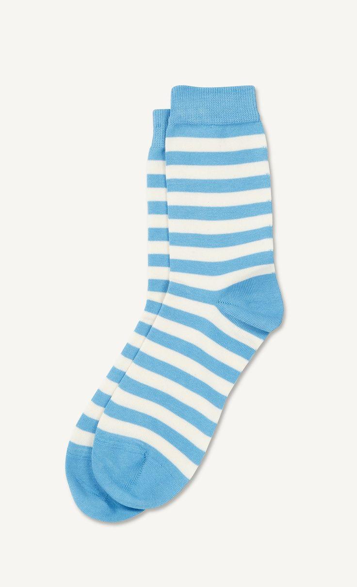 Raitsu -sukat - v.sininen, valkoinen - Marimekko.com