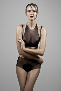 Lingerie Basic look book - Zuzana Kubickova
