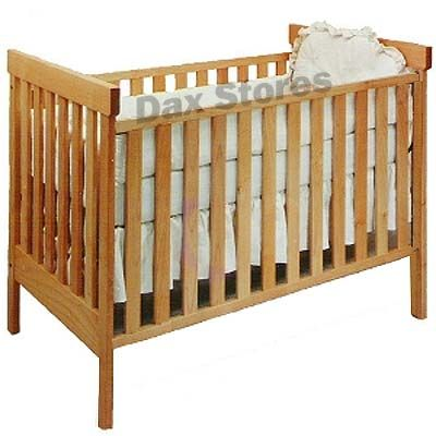 Pacific Rim Solid Maple Arts And Crafts Crib, $930.00, Finish Does Not Off
