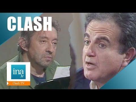 """Serge Gainsbourg Guy Béart le clash dans """"Apostrophes"""" de Bernard Pivot   Archive INA - YouTube"""
