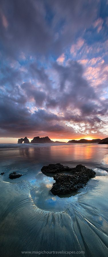 "Golden Bay | South Island, New Zealand • ""Beach at the End of the World"" by Kah Kit Yoong on http://500px.com/photo/11464905"