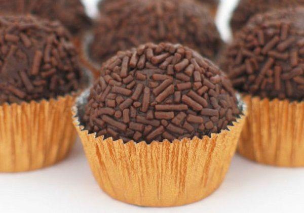Recipes Chocolate truffles BRIGADEIRO