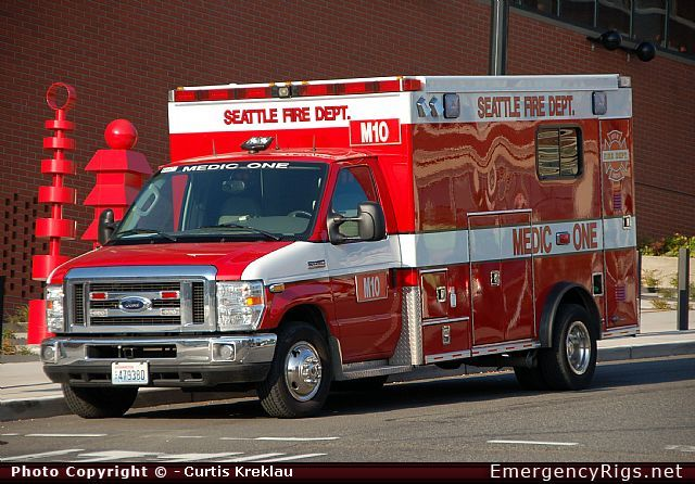 Seattle Fire Department Apparatus Ambulance Seattle