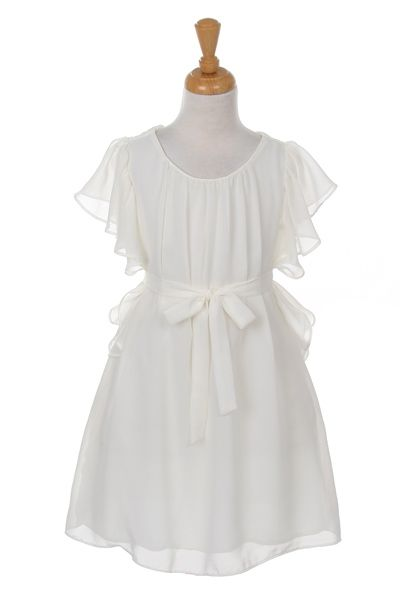 http://childrensdressshop.com/home/451-beautiful-chiffon-girls-occasion-dress-in-ivory.html ivory girls summer dress