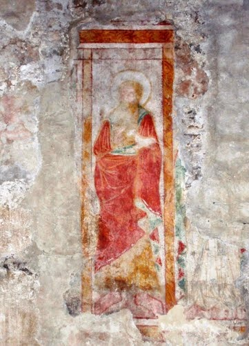 Grado - resurface old paintings in the Basilica of St.  Eufemia