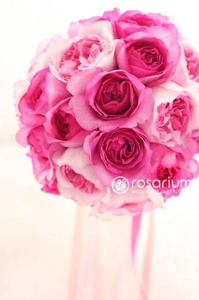 ロザリウム(Rosarium)  イブピアッチェ&イブミオラのラウンドブーケ