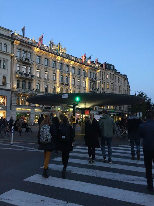 Stockholm - Friday Evening at 7pm... ##Stockholm ##Sweden ##Stureplan http...
