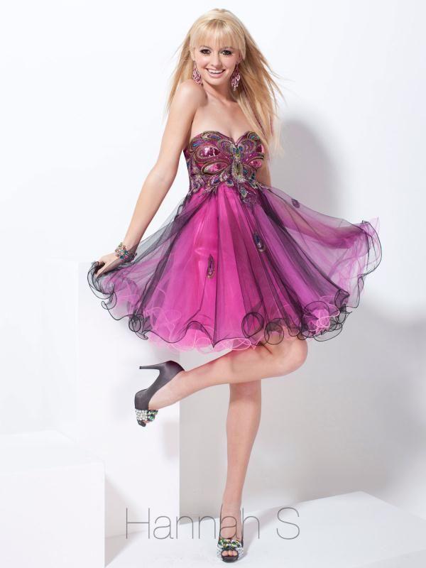 22 best Hannah S. Dresses images on Pinterest | Short prom dresses ...