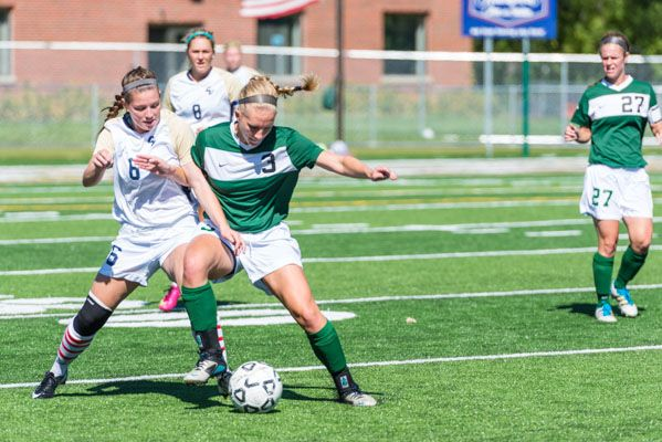 The Bemidji State soccer team earned a 2-0 victory over Concordia-St. Paul Sunday (9/22/13). Check out our entire photo gallery at: http://www.bsubeavers.com/wsoccer/photos/2013/403/