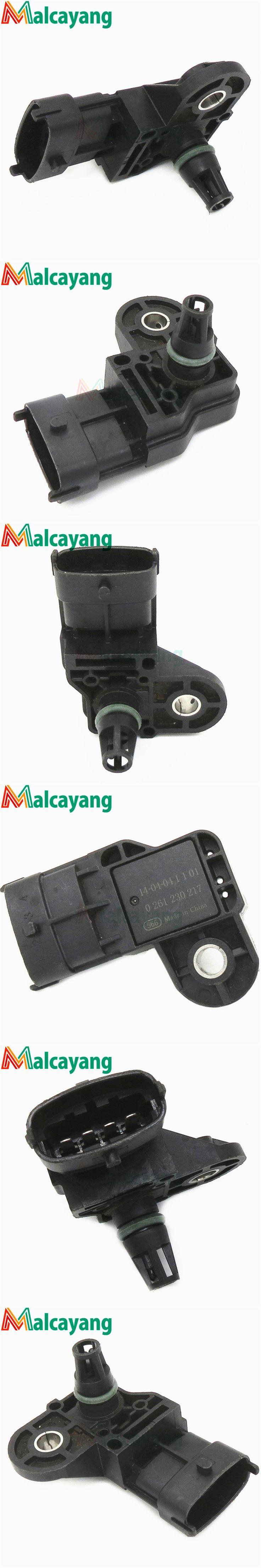 Brand New Intake Manifold Pressure MAP Sensor For GM Opel Blazer S10 Captiva Astra Vectra Zafira 2.0L 2.4L 0261230217, 94705196