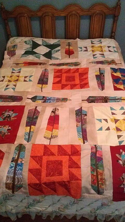Indian Southwest quilt | quilts | Pinterest