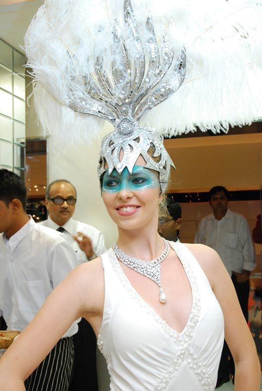 Model Displays Varuna D Jani Jewellery
