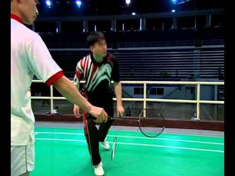 06 反手擊球的發力與握拍_反手接殺_反手推球   Badminton, Wrestling, Sports