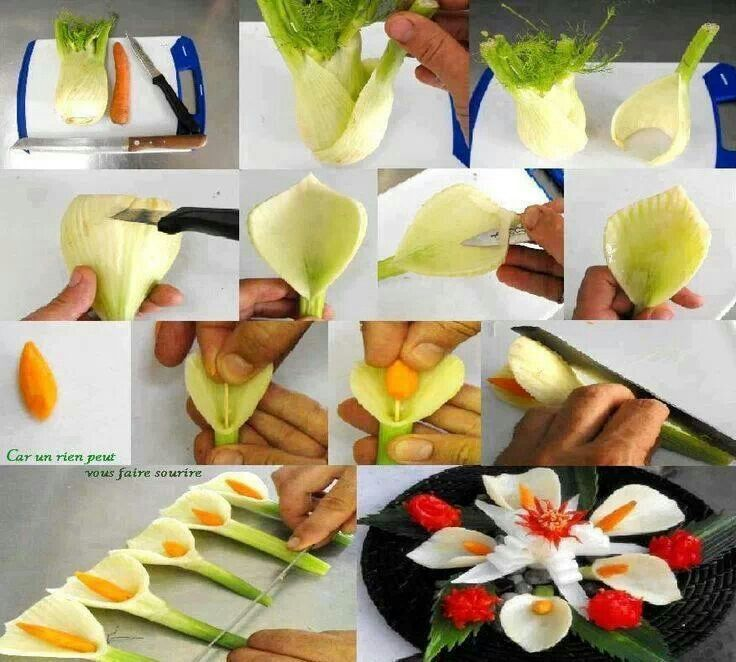 25 best ideas about vegetable carving on pinterest food for Appetizer decoration