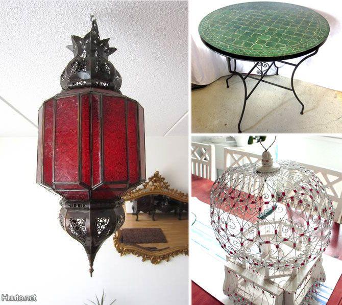 Marokkolainen sisustus: http://blogit.huuto.net/huutonetinhelmet/marokkolainen-sisustus/
