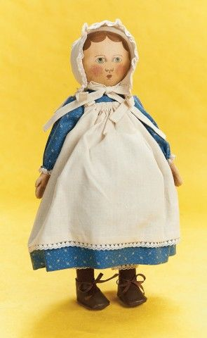 Columbian Girl Doll By Gail Wilson