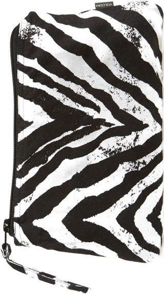 •Website: http://www.cuteandstylishbags.com/portfolio/volcom-black-white-lolita-pouch/ •Item: Volcom Black & White 'Lolita' Pouch