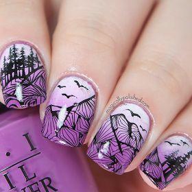 Magically Polished |Nail Art Blog|: Bundle Monster: Festival Collection Stamping Plates Nail Art + Nail Art