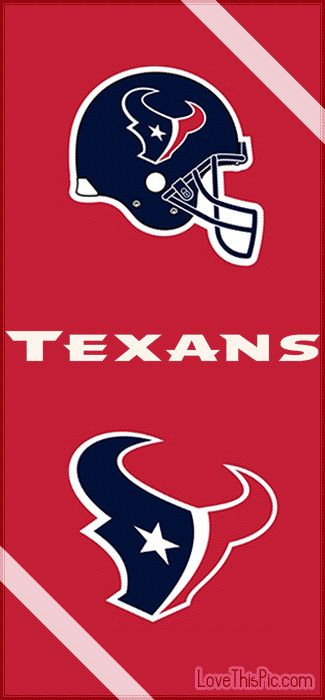 The Houston Texans! Looks like if you print it out, it could be a good size bookmark!