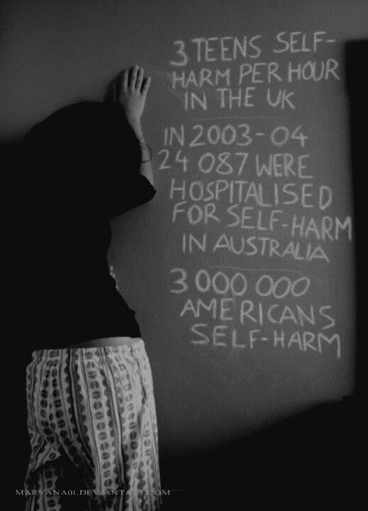 how to stop self harm pain