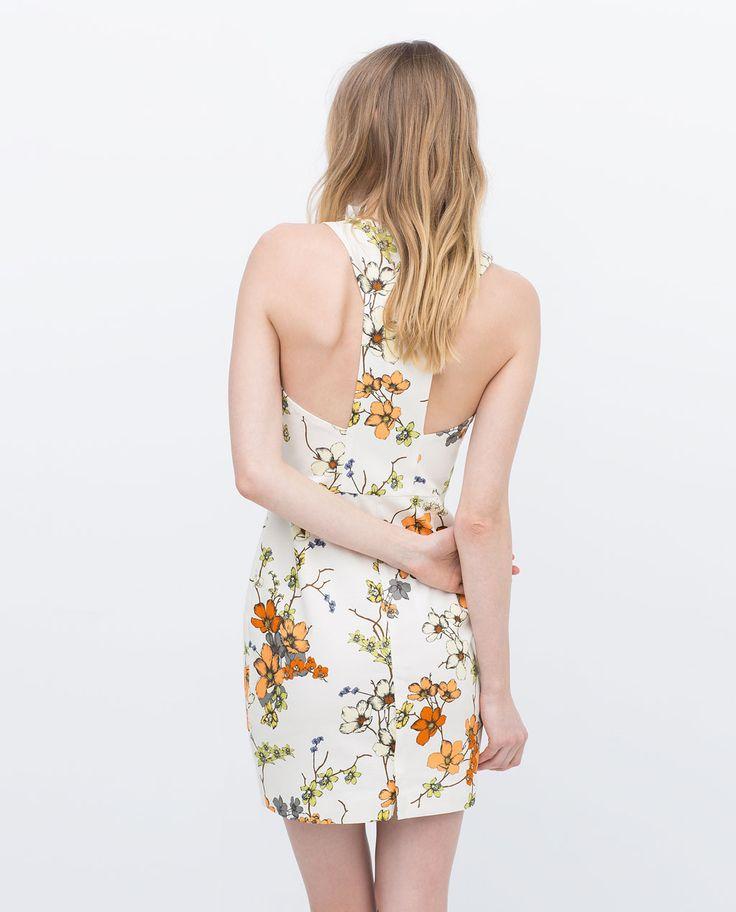 ZARA - WOMAN - PRINTED DRESS