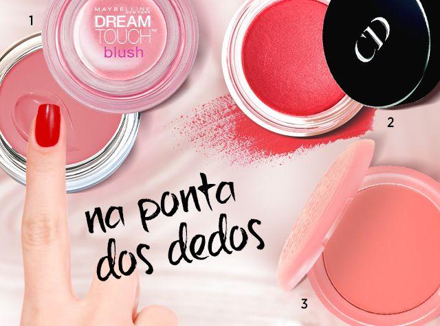 I Love Beauty - Blushes em Creme