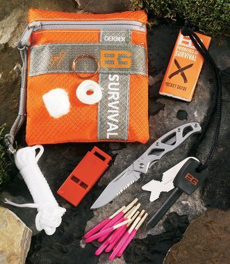 Whistle/ Fire Starter/ waterproof matches ,Bag/ SOS/ All In one