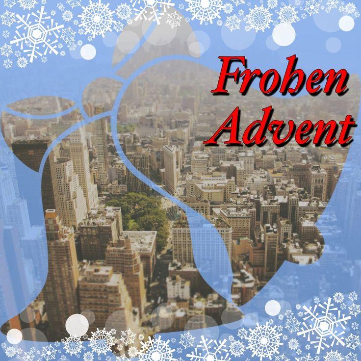 Frohen Advent! lizenzfreier lizenzfreie Bilder