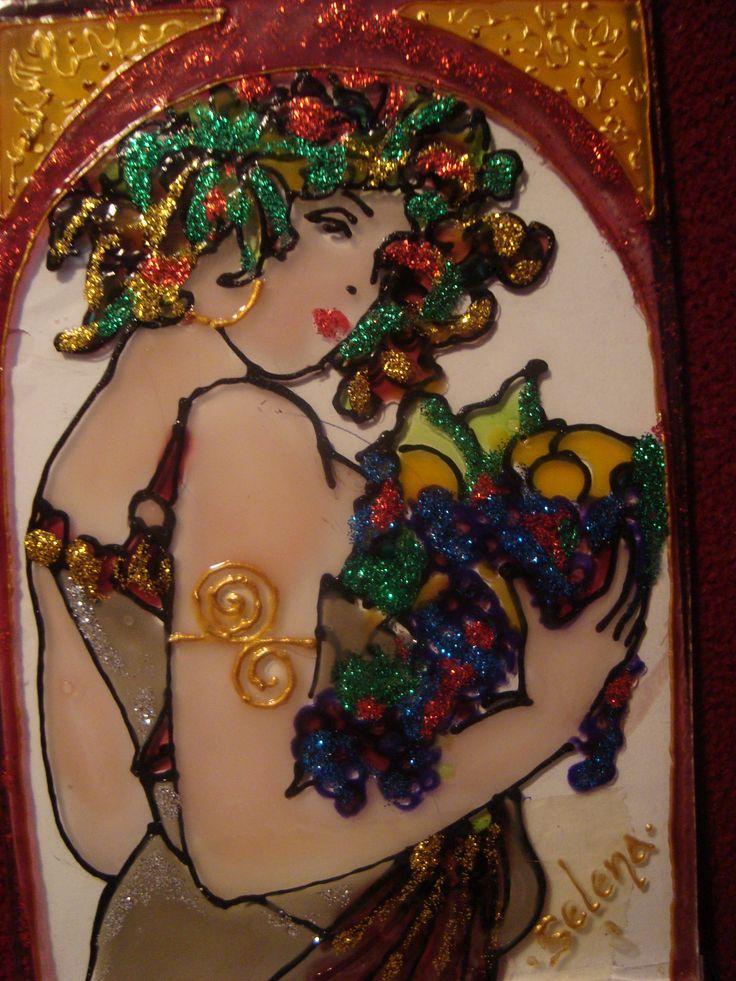 52 best Artist Mirjana Selena (Serbian) images on Pinterest - k chenr ckwand glas motiv