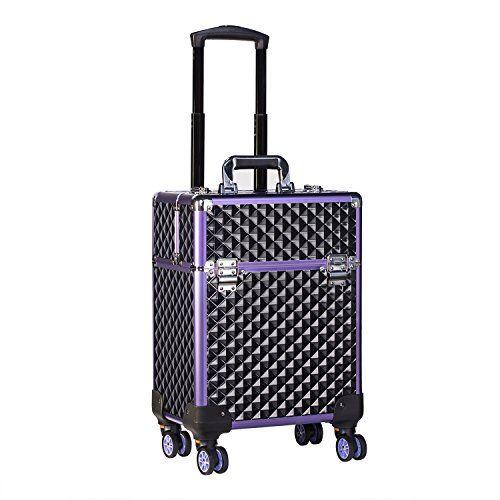 Joligrace Extra Large Beauty Trolley On Universal Wheels Cosmetic