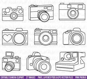 Camera Outline Clip Art - Bing images