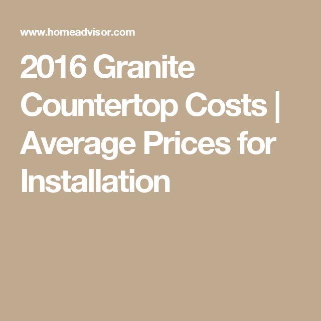 Granite Countertops Cost Average : about Granite Countertops Cost on Pinterest Granite Kitchen, Granite ...