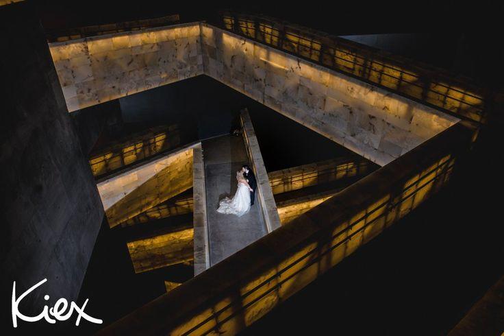 MARRIED • SARAH + DAVID | kiex fotography & design #winnipegwedding #canadianmuseumforhumanrights #newyearsevewedding #epicshot #winnipegweddingphotography #winnipegweddingphotographer #2016wedding