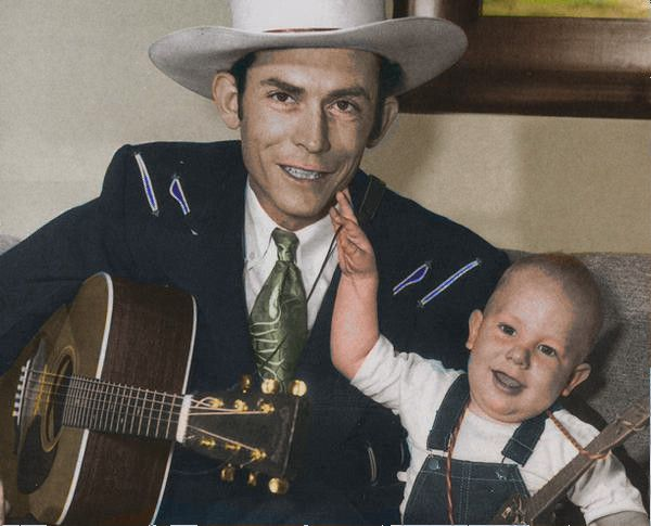 Hank Williams Sr And Jr Colorized #2 by OldHank on deviantART