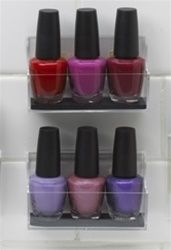 StickOnPods   Nail Polish Storage Holder (Includes 2 Units) Nice Ideas