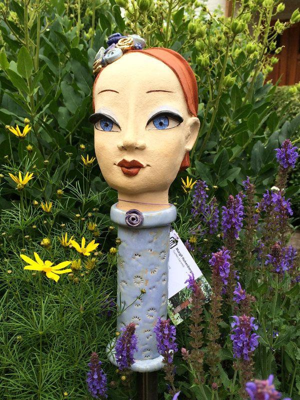 40 best images about gartenkeramik on pinterest gardens for Ausgefallene gartendeko