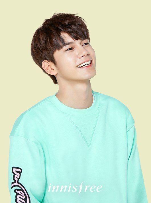WannaOne x Innisfree•OngSeongwoo