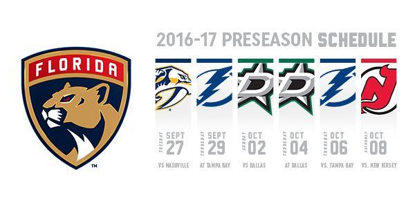 16-17 Preseason Schedule