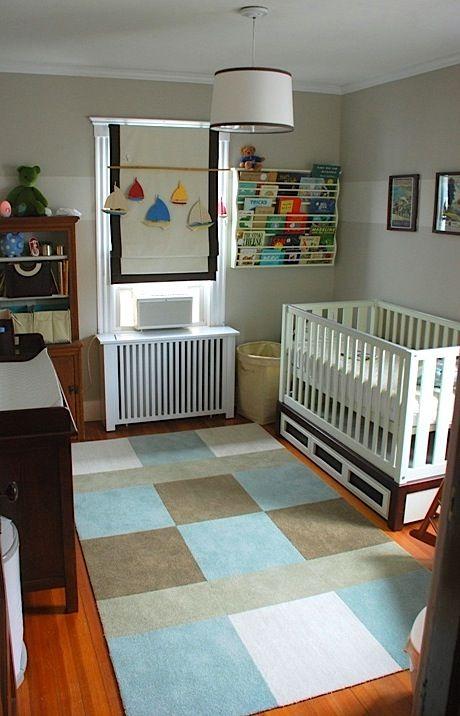 Baby Nursery Area Rug With Flor Carpet Tiles
