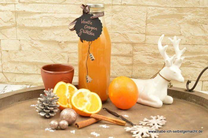 Vanille Orangen Glühwein